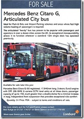 Bendy bus sale