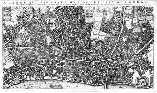 Morgan's Map of 1677