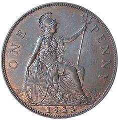Penny obverse