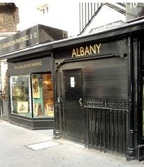 Albany back door