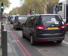 The cabbie's nemesis?