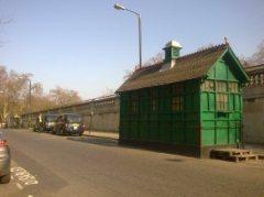 Green hut v green bridge