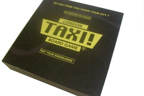The London Taxi! Board Game
