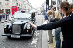 How to hail a cab like a local