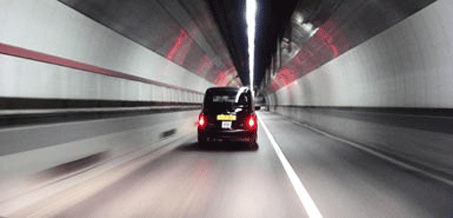 Tunnel vision for cyclists