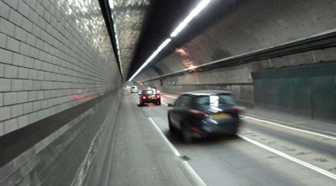 Emphysema tunnel