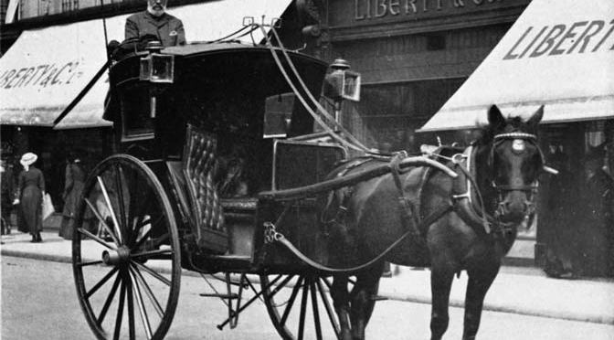 London's first taxi rank
