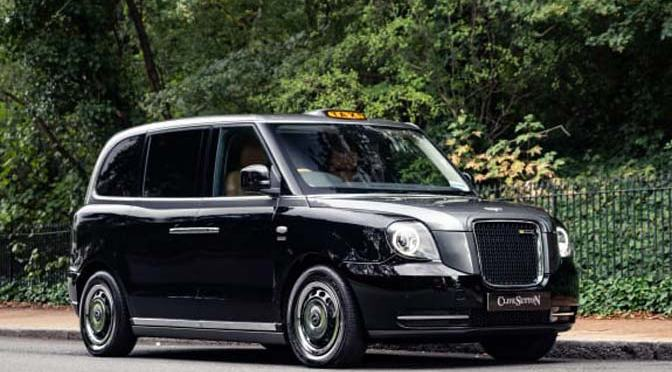 The world's most luxurious cab